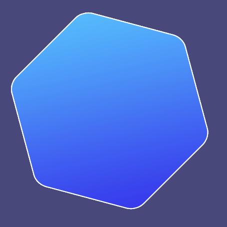 promo marketing slider hexagon